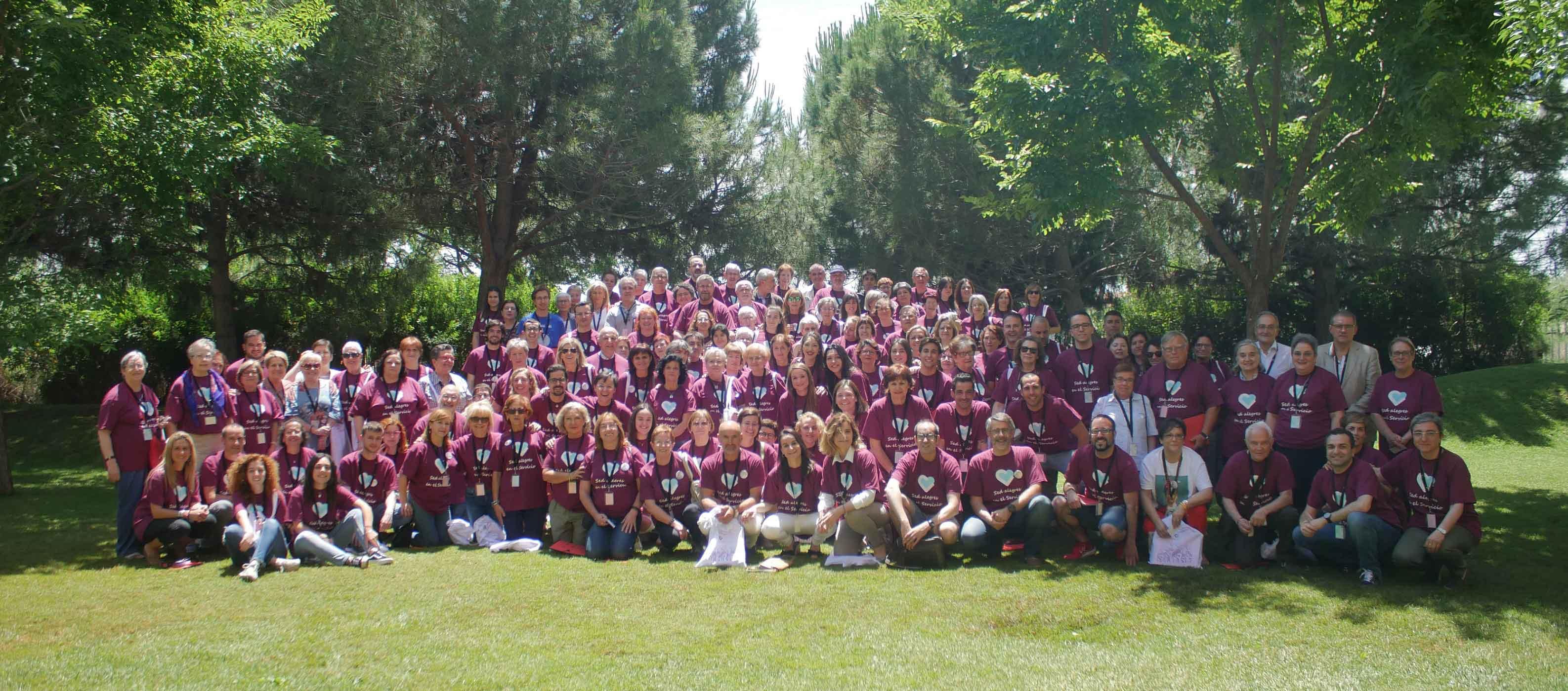 I Encuentro de voluntarios