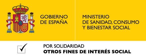 CON EL APOYO DEL MINISTERIO DE SANIDAD, CONSUMO Y BIENESTAR SOCIAL