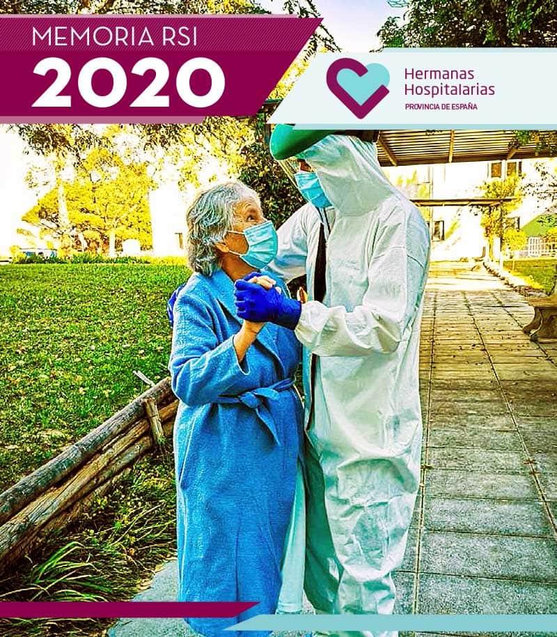 Portada Memoria RSI Hermanas Hospitalarias 2020
