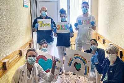 Hermanas Hospitalarias comprometidos con los pacientes y usuarios